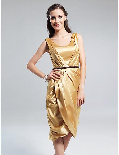 صورة فساتين اخر موضه 2020 , كولكشن فساتين سهرة , جمال اللون الذهبي في السواريهات 109 4