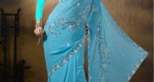 صورة احدث ملابس هنديه ليوم حنة العرائس , ملابس لحنه العرائس روعة 2020