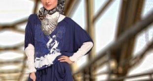 صوره اجمل ملابس المحجبات شيك , ازياء للبنات المحجبات , ازياء خروج كاجول للمحجبات 2018