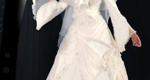 صوره صور فساتين زفاف للمحجبات