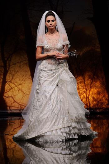 صوره فساتين زفاف رخيصة