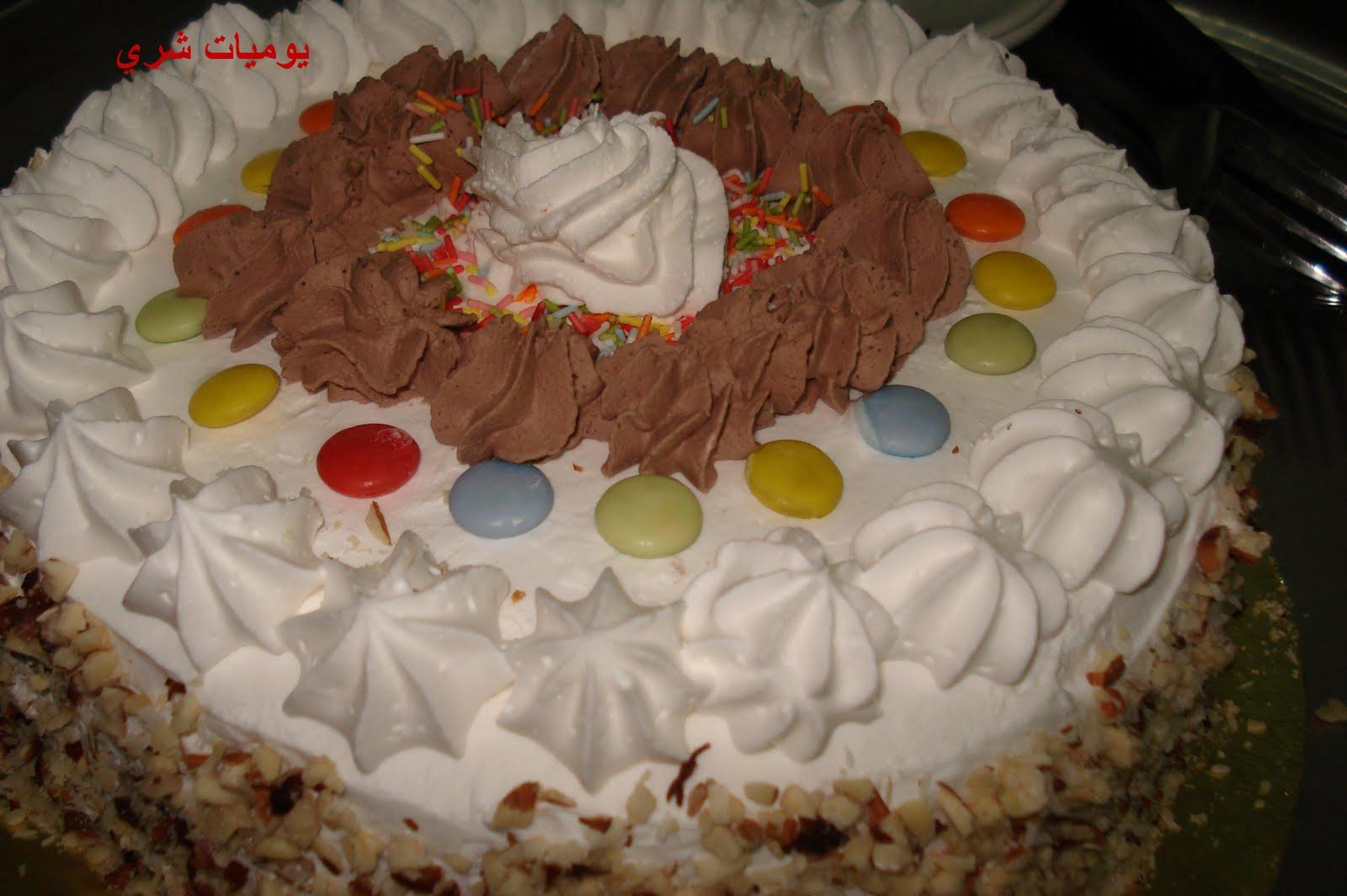 صورة حلوى عيد الميلاد , طريقة عمل كيك لاعياد ميلاد الاطفال