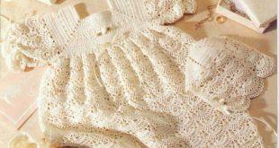 طريقة عمل فساتين كروشيه , تعلمي كيف تعملي فستان كورشيه بيدك