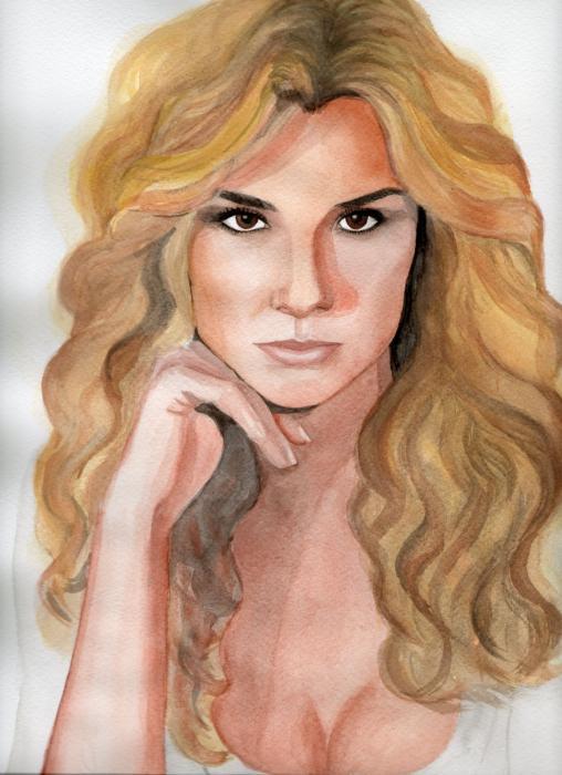 صورة اليزابيث غوتييريس , ممثلة وعارضة ازياء مكسيكية