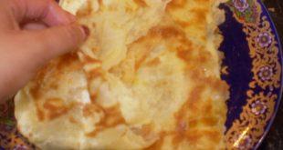 صوره المسمن الجزائري في الفرن , طريقة عمل المسمن
