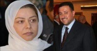 صورة زواج رغد صدام حسين من خميس خنجر , زفاف ابنة الرئيس الراحل صدام حسين