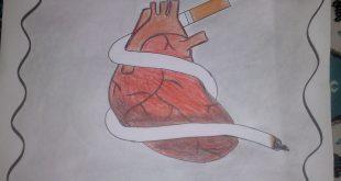 صورة رسومات التدخين , اجمل رسومات بالدخان ثلاثية الابعاد