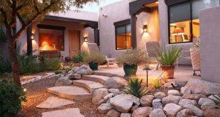 صورة تصميم حدائق منزلية بالرياض , حدائق للفلل شيك