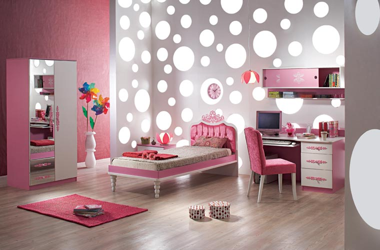صورة صور دهانات غرف بناتي , اجمل ديكورات غرف البنات