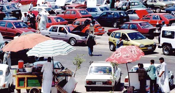 صوره سوق السيرات , مكان سوق السيارات في مصر