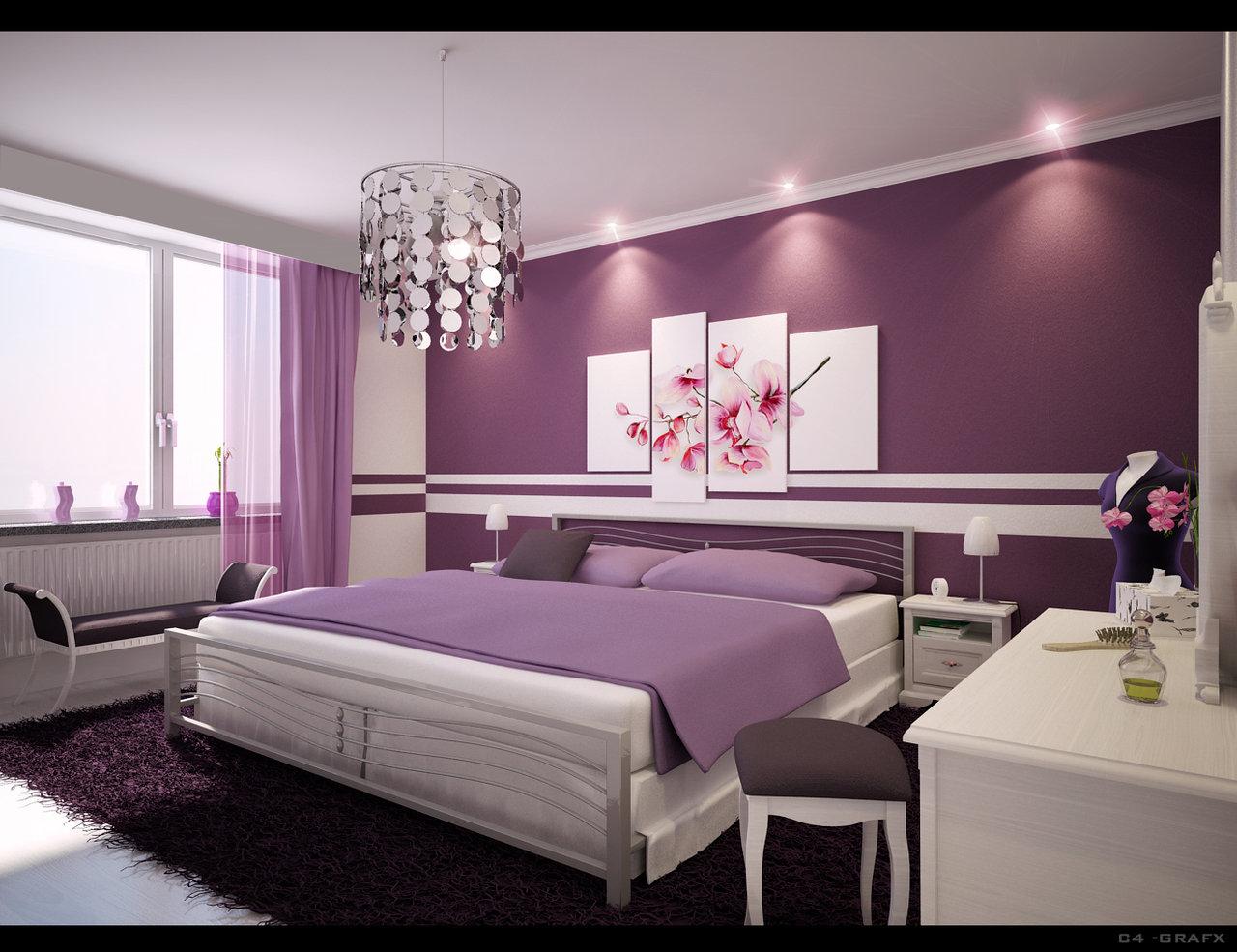 صور تصاميم غرف نوم شياكة 2019 , غرف نوم ناعمة , غرف نوم كيوت 2019