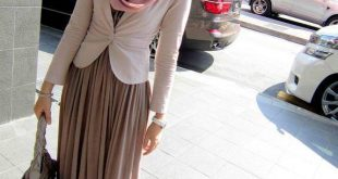صورة ازياء محجبات للعيد 2019 , ملابس تحفة للعيد للمحجبات 2019