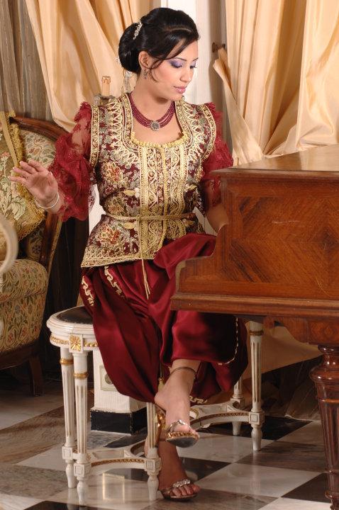 صور كراكو جزائري عصري , ملابس جزائرية جديدة 2019
