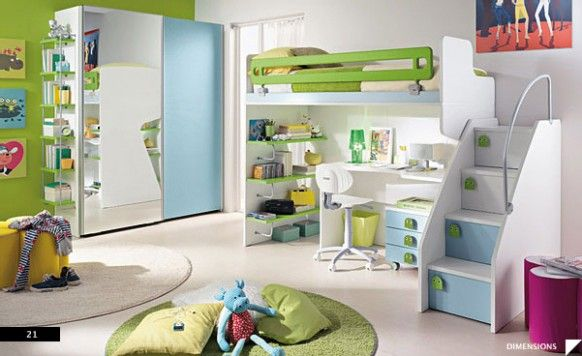 صورة غرف اطفال مودرن , احلي موديلات غرف طفولية