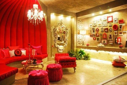 صوره احلى ديكورات غرف استقبال , صالونات عصرية مودرن للمنازل