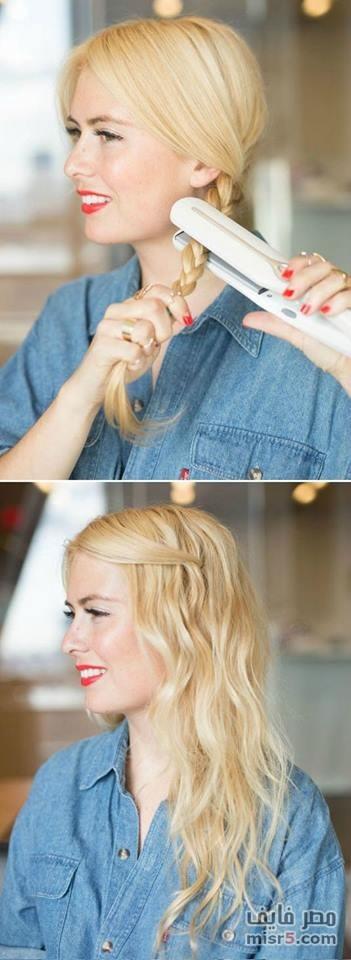 صور تسريحات شعر سهلة , اجمل تسريحات للمراهقات
