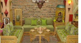 صورة اجمل صالونات مغربية , ديكورات غرف جلوس