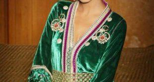 صورة اجمل قفاطين مغربية , قفاطين علي الطراز المغربي
