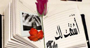 صوره كلمات اشتياق مؤثرة , عبارات غرام , كلمات للحبيب الغايب 2019