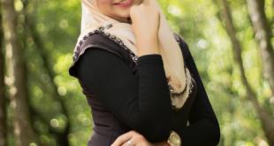صورة فساتين محجبات جديدة , ازياء من الشيفون , يابنت يامحجبه تفضلي موضة الشيفون 2019