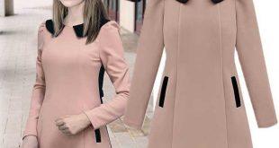 صوره ازياء فساتين شتوية 2019 , موديلات شتوي , مع برودة الشتاء قمة ملابس الشتاء