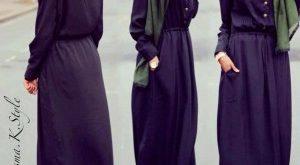 صوره ازياء للمحجبات على الموضة , موديلات غاية في الاناقة , افخم ملابس للمحجبات 2018