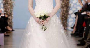 صوره جديد فساتين عرايس 2018 , فستان لعروس فاتنه , احدث موضة فى فساتين الزفاف
