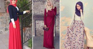 صور ازياء محجبات فاشون , اشكال الحجاب الاكثر طلبا لدى البنات المحجبه 2019