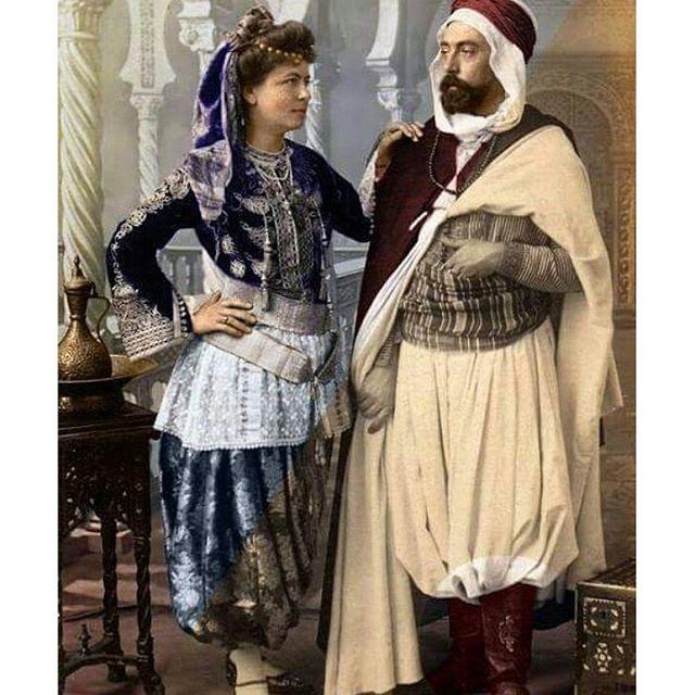 صورة اللباس التقليدي الجزائري , افضل ازياء جزائرية