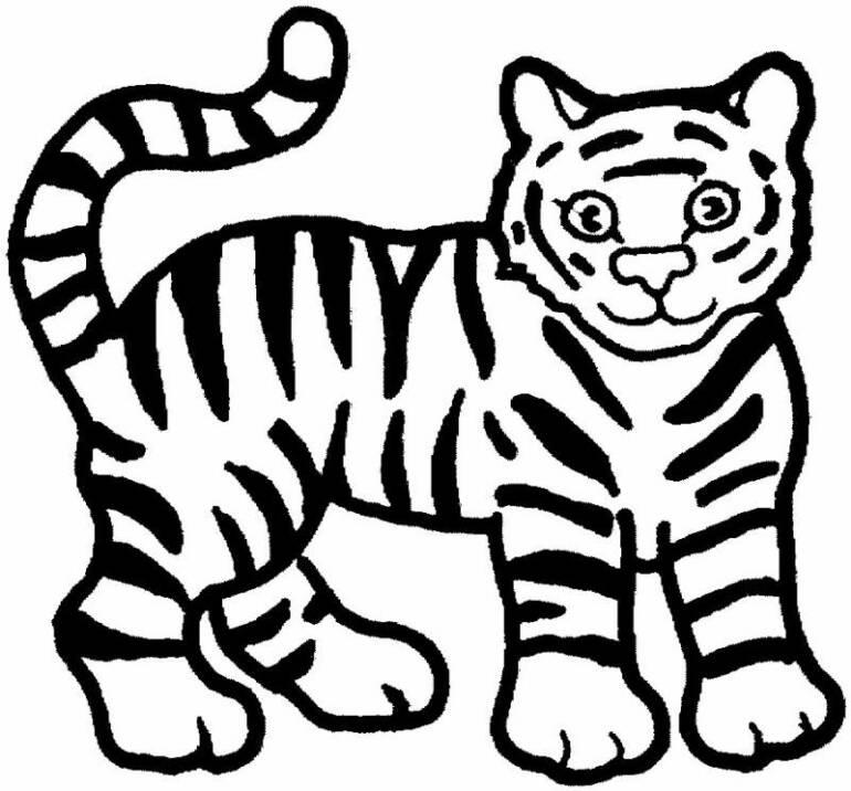 صور صور حيوانات للتلوين , رسومات تلوين للاطفال