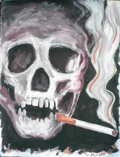 صوره رسومات التدخين , اجمل رسومات بالدخان ثلاثية الابعاد