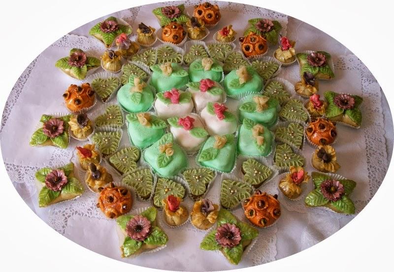 صورة حلويات العيد باللوز بالصور , اعداد حلويات العيد , اسهل طرق حلوي الاعياد 2019