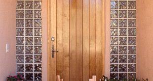 صوره ابواب شقق خشبية , ديكورات ابواب من الخشب