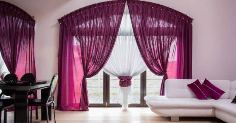 صورة ستائر غرف النوم بسيطة , ستائر فخمة للعرائس