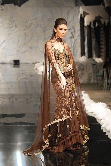 صورة فساتين سهرة لبنانية , صور لفساتين لبنانية , افضل فستان سهرة لبناني 2019