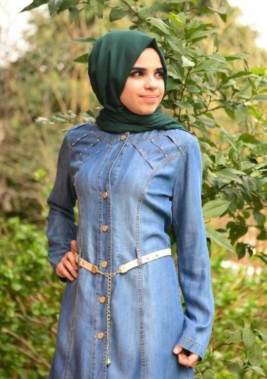 صور ملابس صيفية تركية للمحجبات , فساتن طويلة للمحجبات 2019
