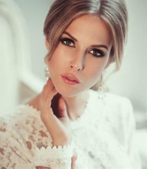 صوره اجمل وافضل المكياجات للزفاف , تسريحات شعر للعرايس , مكياج للعروس جنان 2019