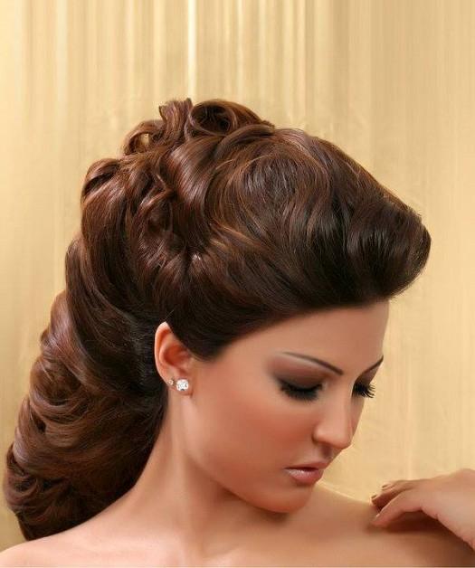صورة تسريحات جميله جدا , تسريحة شعر جديدة و مبتكرة