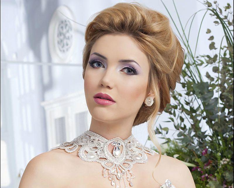 صوره تسريحات ومكياج عرايس , اجمل التسريحات للعرائس فى اجمل ليلة