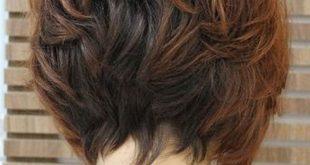 قصات شعر قصير مدرج , اجدد القصات للشعر القصير