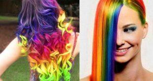 صورة طريقة صبغ الشعر بالالوان , اجدد الوان الصبغات و طريقة تطبيقها