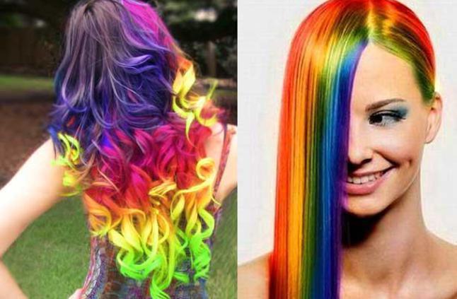 صور طريقة صبغ الشعر بالالوان , اجدد الوان الصبغات و طريقة تطبيقها