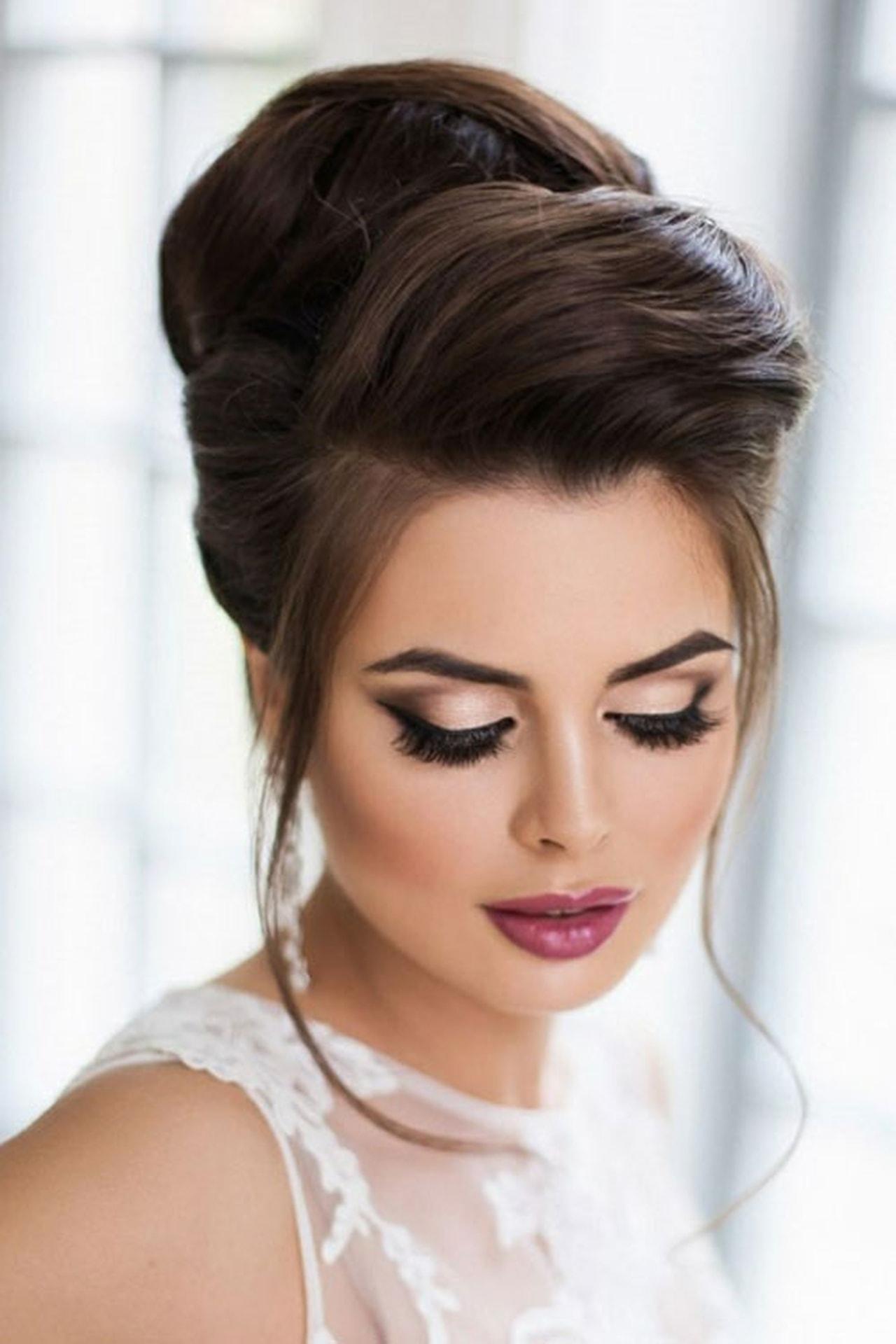 تسريحات جميلة للعرايس اجمل تسريحات الشعر لليلة العرس بالصور