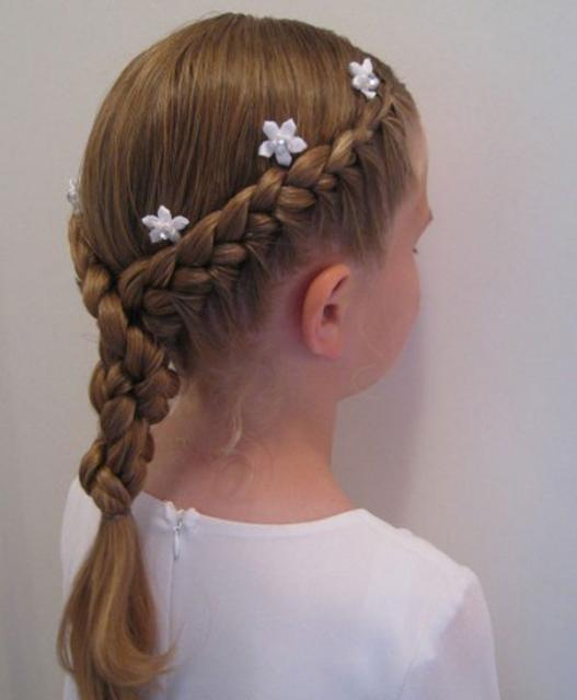 صوره تسريحات شعر للاطفال , اجمل و اجدد تسريحات البنات