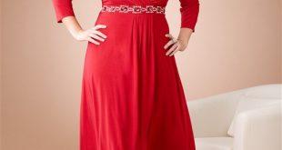 صور ازياء فساتين للسمينات اجمل اروع لباس للممتلئات و للدبدوبات , حتبينك ارفع و اطول
