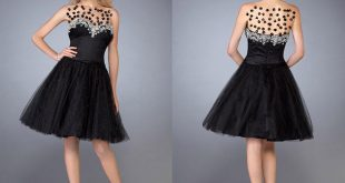 صوره اجمل اروع الازياء الفساتين للنحيفات مره , افرحى برشاقتك و جمالك