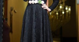 صوره اجمل اروع الازياء الشتوية للمحجبات للسهرات 2018 للمناسبات , حجابك حيزود جمالك فى الحفلة