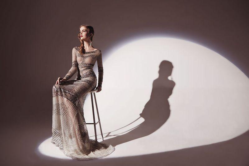 صورة ازياء فساتين سهره راقيه , ازياء للسهره ناعمه , اروع زي فستان سهرات راقي 2020