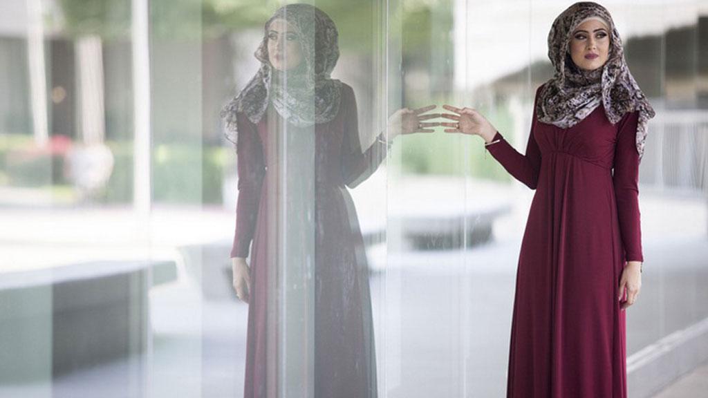 صورة فساتين محجبات جيل , موديلات بالحجاب , فساتين جيل جميلة وانيقة جدا 2019