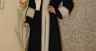 صورة جلابيات كويتية موضة , عبايات خليجي , صور عبايات فخمة2019
